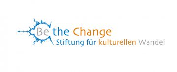 Logo Be the Change Stiftung für kulturellen Wandel